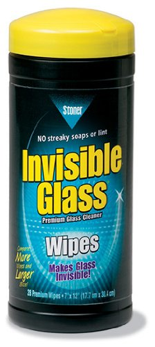 Stoner 90164 'Invisible Glass' Glass Cleaner Wipe