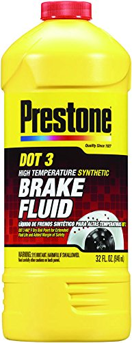 Prestone AS401 DOT 3 Synthetic Brake Fluid – 32 oz.