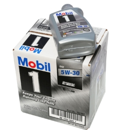 Mobil 1 94001 5W-30 Synthetic Motor Oil – 1 Quart (Pack of 6)